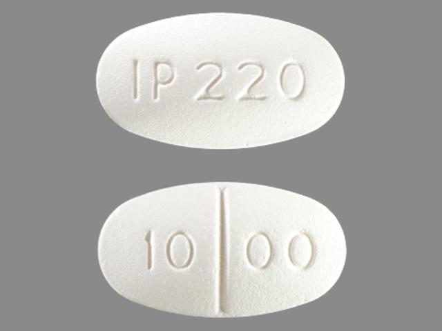 Metformin Hydrochloride tablet - (metformin hydrochloride 1000 mg) image