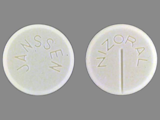 Nizoral tablet - (ketoconazole 200 mg) image