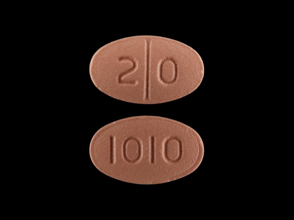 Citalopram Hydrobromide tablet - (citalopram hydrobromide 20 mg) image