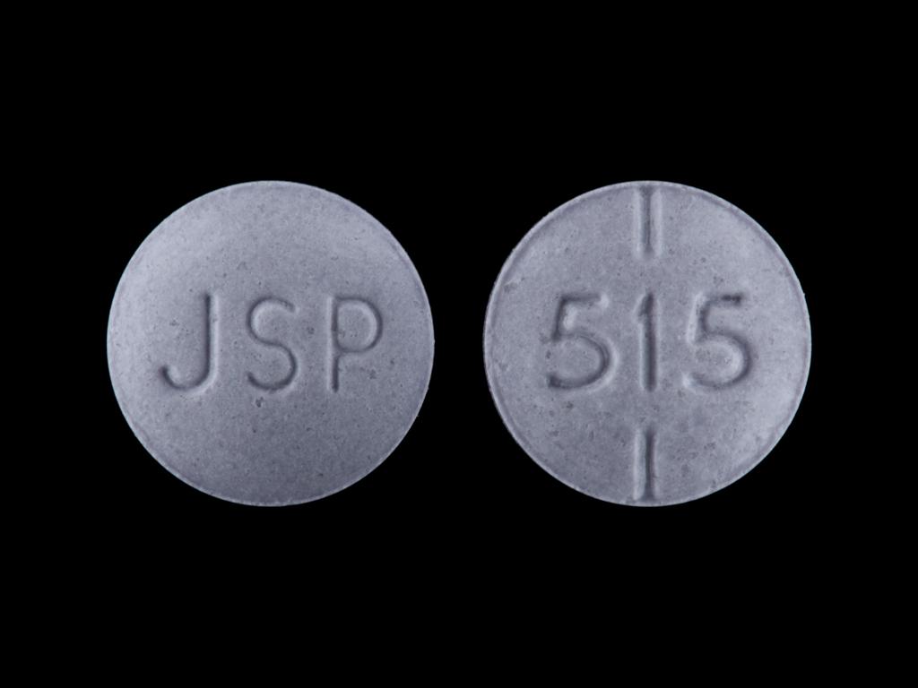 levothyroxine sodium 0.075 mg - jsp 515 ROUND PURPLE image