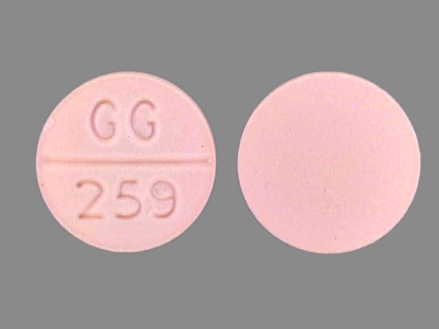 Isosorbide Dinitrate tablet - (isosorbide dinitrate 5 mg) image