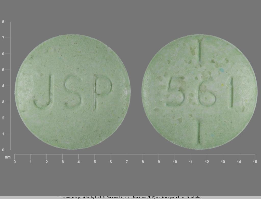 levothyroxine sodium 0.088 mg - jsp 561 ROUND GREEN image