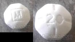 Dextroamphetamine saccharate, amphetamine aspartate monohydrate, dextroamphetamine sulfate and amphetamine sulfate tablet - (dextroamphetamine saccharate 7.5 mg amphetamine aspartate 7.5 mg dextroamphetamine sulfate 7.5 mg amphetamine sulfate 7.5 mg) image
